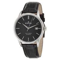 Edox Men's 80081 3 NIN Les Vauberts Automatic Date Swiss Watch