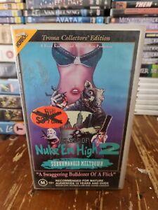 Class Of Nuke Em High 2 VHS