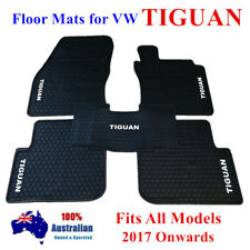 Waterproof Rubber Floor Mats Tailor Made For Volkswagen Tiguan 2018 2019 Black