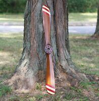 Handmade WWII Airplane Wooden Propeller Blade Décor