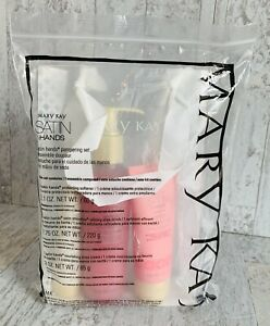Mary Kay Satin Hands Pampering Set Blissful Pomegranate Full Size NEW!