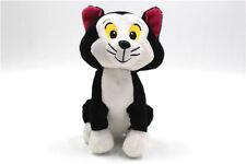"New Disney Pinocchio Figaro Cat 6"" Plush Stuffed Animal Black Cat Toy IMC"