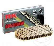 Oro Cadena RK Honda CBR 1000RR,SC59,116 Enlaces,Gb 530Gxw ,Sello Forma X,Nuevo