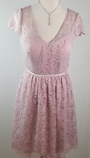 Jenny Yoo Marquis Lace Formal Dress Suede rose, Sz 10,*sample* NWT (M9)