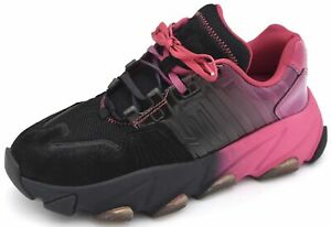 ASH WOMAN SNEAKER SHOES SPORTS CASUAL TRAINERS FREE TIME FAUX LEATHER EXTASY