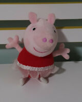 PRINCESS PEPPA PIG CHARACTER PLUSH TOY! BALLERINA TALKING TOY 20CM!