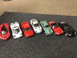 1/43 Diecast Cars Job Lot Bundle Ferrari Bond Aston Martin BMW Zonda Lotus