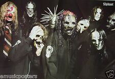 """SLIPKNOT """"MASKED & WEARING  BLACK COATS"""" POSTER FROM ASIA - Heavy Metal Music"""
