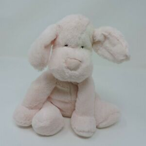 """Little Jellycat Pink Patches Puppy Dog Plush 9"""" Soft Toy Stuffed Animal"""