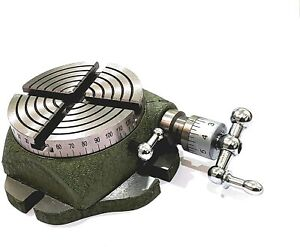 """Small 2-3/4"""" Rotary Table for Watchmakers, Jewelry, MILLING,Engineering Tool"""