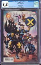 X-Men #1 (Marvel Comics, 2019) CGC 9.8 Portacio Variant Cover