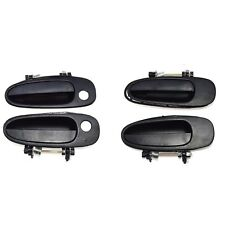 For TOYOTA COROLLA 93-97 NEW Outside Door Handle Front Left Right Black 4 PCS