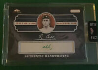 Ty Cobb Signed Encapsulated From Ty Cobb Estate