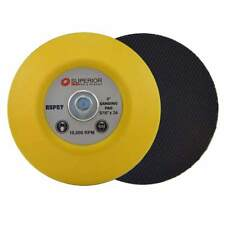 """Superior Pads RSP57 3"""" Hook & Loop Sanding Pad with 5/16""""-24 Threads"""