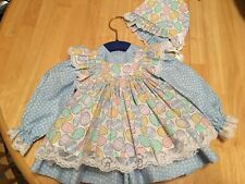 Easter Dress Pantaloons Fits Reborn Doll Thumbalina Cabbage Patch Wakeen #354