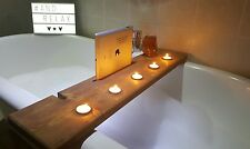 Bath Tray Caddy Bar Shelf Bathroom Unit Wine Tablet Mobile Phone Holder 80cm