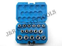 "1/2"" Dr. 16PC Penta-Spline Socket Set (SAE, Metric, Torque)"