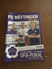Stadionmagazin FC Nöttingen (mit FC Bayern Beitrag)