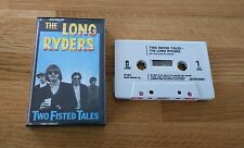 RARE The Long Ryders Two Fisted Tales UK Cassette Island ICT9869 Country Rock