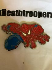 Amazing Spiderman Action Belt Buckle Marvel Comics Bioworld New Without Tags