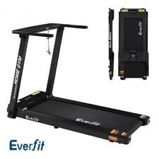 Everfit 420mm Belt Home Gym Electric Treadmill Machine - Black