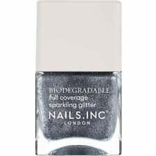 """BN Nails Inc Polish """"Sloane Square Sparkles"""" Silver Glitter Biodegradable 14ml"""