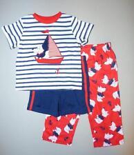 LITTLE ME® Baby Boy's 18M Sailor Dog 3 Pc. Sleep or Pajama Set *NWT*