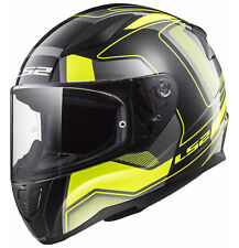 103532554s - Casco Ls2 Integrale Ff353 Rapid Carrera Black H-v Yellolia S