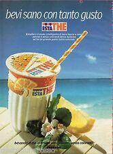 Pubblicità Advertising 1994 ESTATHE' FERRERO Bevi sano con tanto gusto