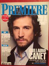 PREMIERE 01/09 G Canet I Huppert V Cassel Belmondo K Winslet + Poster Twilight