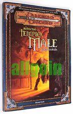 Dungeons & Dragons RITORNO AL TEMPIO DEL MALE ELEMENTALE 2002 WOTC #6041 D&D 3.0