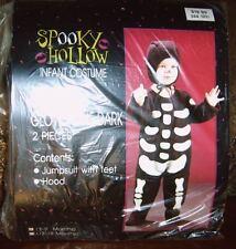 Halloween Costume Glow In The Dark Skeleton Size 3-9 months