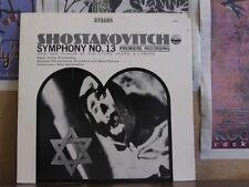 SHOSTAKOVICH SYMPH 13, KONDRASHIN - LP 3181 GROMADSKY