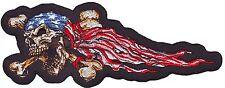 Patch brodé USA DEATH SKULL - Style BIKER HARLEY