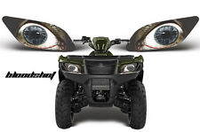 AMR RACING HEAD LIGHT EYES GRAPHIC DECAL SUZUKI KING QUAD ATV PARTS -- BLOODSHOT