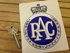 RAC VECCHIO Garland Stile Adesivi RAC RALLY 1960's 70's