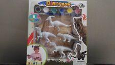 Juguete para pintar dinosaurios con pincel educativo manualidades
