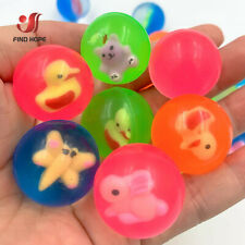 Mini Rubber Bouncing Balls Super Bouncy Elastic Kids Toy Gift Party Favor