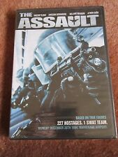 DVD Thriller Attack on Eiffel Tower SWAT Team Based on True Events French/Eng
