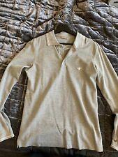 Dior Homme Long Sleeve Polo Sz 46 Small