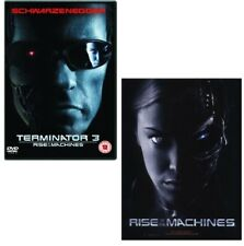 TERMINATOR 3 (2003):  DVD - THE RISE OF THE MACHINES - T-800 vs T-X - NEW UK