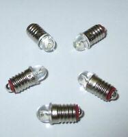 Ampoules De Remplacement LED E5.5 16-24V - 5 Pièce Nouveau