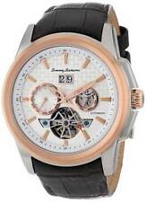 New Tommy Bahama TB1247 Automatic Multi Two Tone Brown Leather Men's Swiss Watch