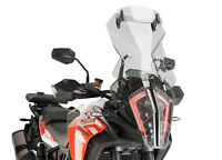 PUIG TOURING SCREEN-VISOR KTM 1290 SUPER ADVENTURE R/S 17-21 LIGHT SMOKE