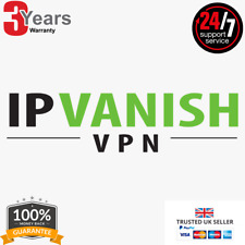 ✅IPVANISH PREMIUM VPN 🔥 LIFETIME ACCOUNT + WARRANTY 🔥 INSTANT DELIVERY 🔥 ✅