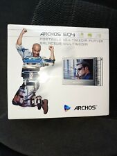 Archos 504 80 Gb Portable Media Player (500870) Brand New sealed