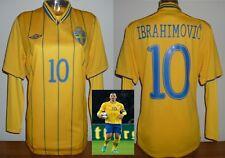 SWEDEN 2012 soccer jersey IBRAHIMOVIC LA GALAXY football shirt +L/S Base layer