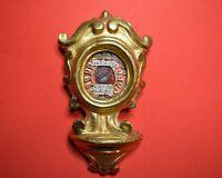 VERY RARE reliquary shrine relicTHE INSCRIPTION OF TRUE CROSS D.N.J.C  EPOC 1800
