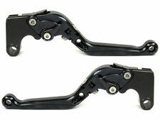 Levier levers flip-up foldable  FULL black NOIR TRIUMPH DAYTONA 675 2006-2013