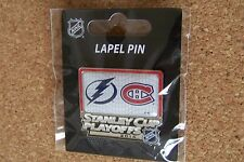 2015 Stanley Cup Playoffs pin NHL SC Tampa Bay Lightning Montreal Canadiens II